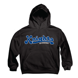 Youth Applique Pullover Hood-Runs Small